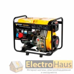 Трехфазный дизельный генератор FORTE FGD6500E3 (Форте)